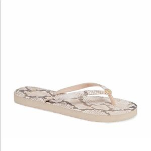 NWT Tory Burch Thin Flip Flops